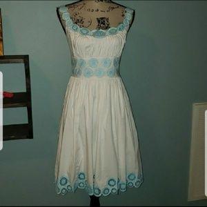 New Antonio Melani Kali Dress In Bluegrass Belle